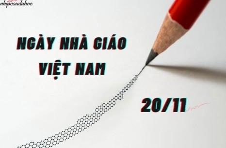 Mừng ngày Nhà giáo Việt Nam 20/11/2020